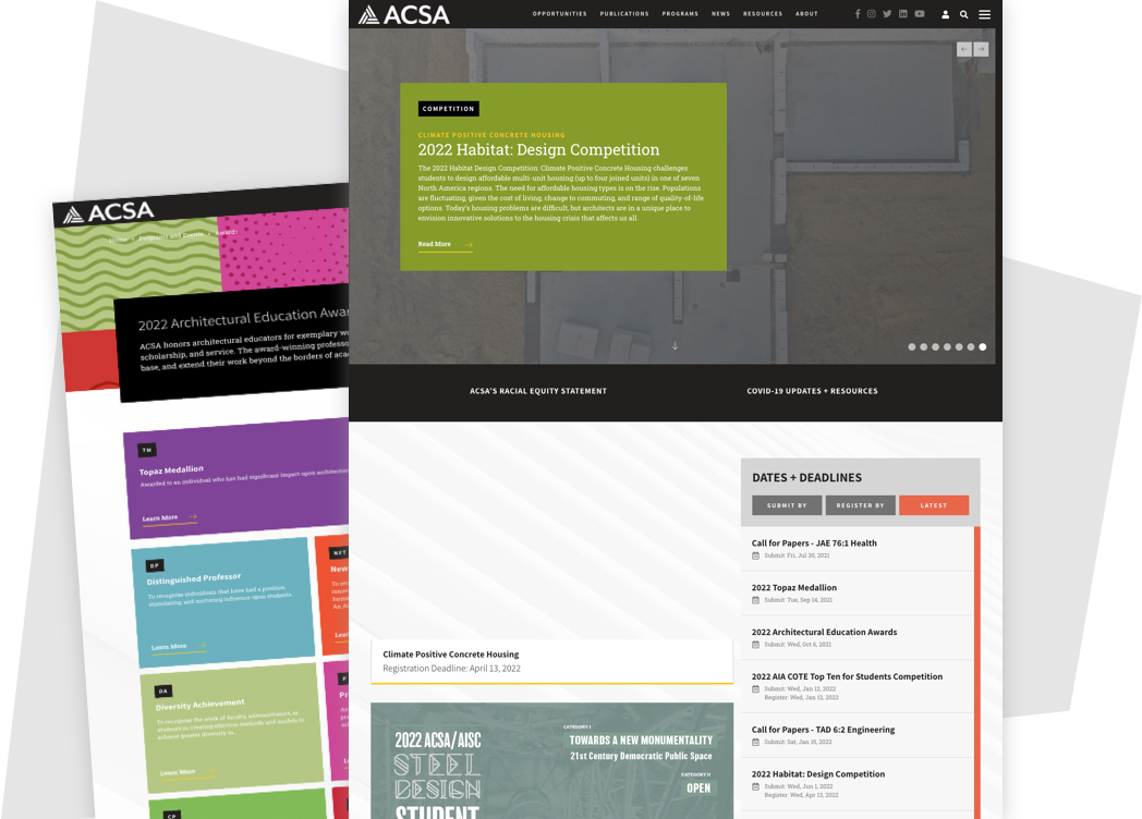 ACSA学院设计大奖
